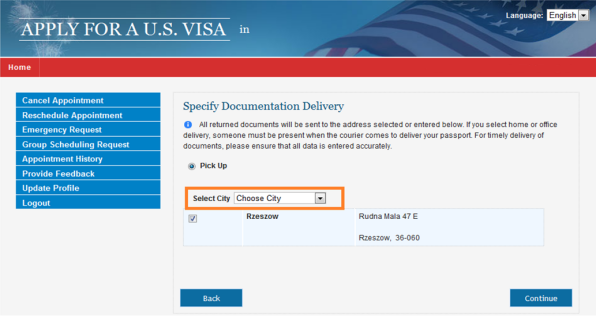 Can i cancel my incomplete usa visa application