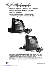 instant power battery charger xp400 manual
