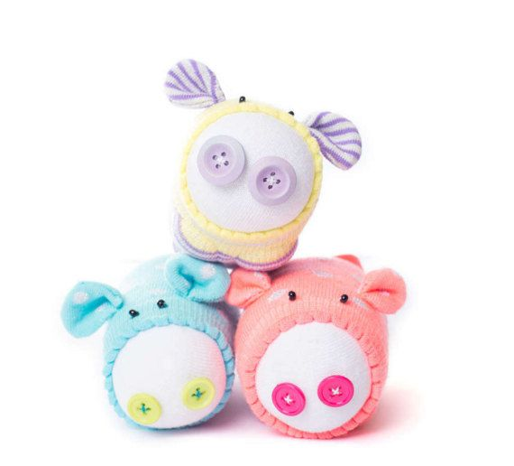 how to make a sock pig instructions