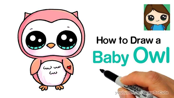 Youtube how to draw an owl
