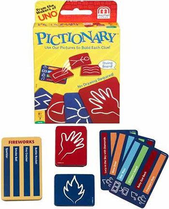 pictionary card game instructions