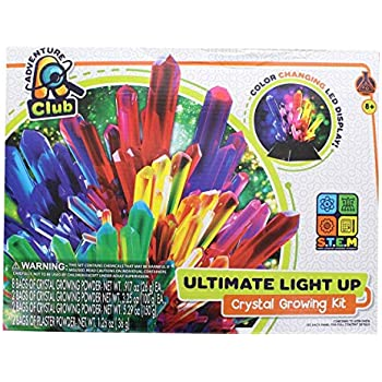 adventure club ultimate light up crystal growing kit instructions