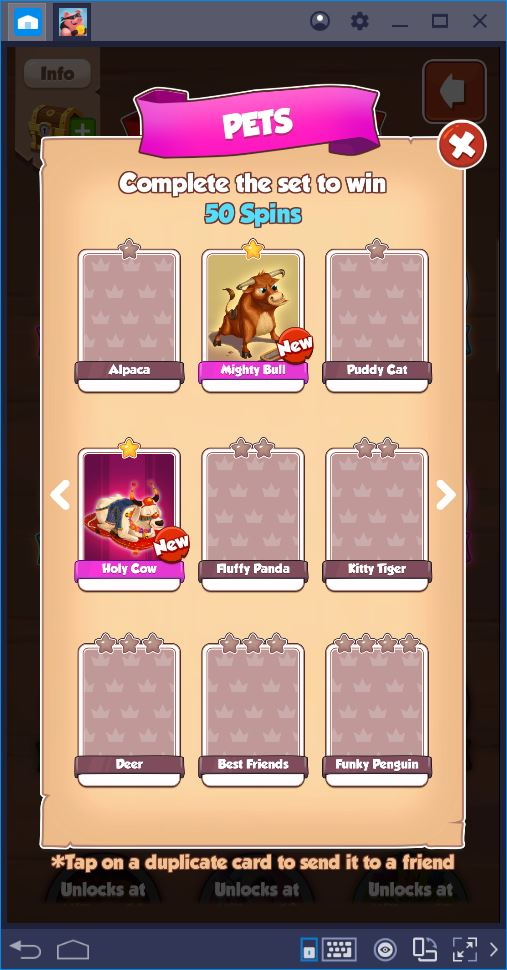 Tetra master get all cards guide