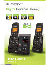 Emerson dect 6.0 cordless phone manual
