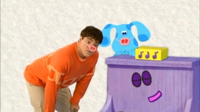 Blues clues blues big band how to draw