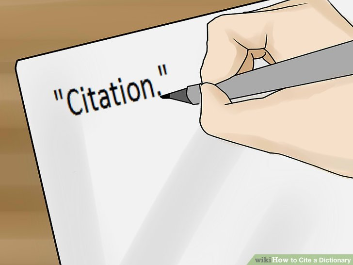 Reputable dictionary online for citing